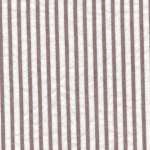 Brown Seersucker Fabric | Striped Seersucker Fabric - Choc. Brown