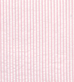 Pink Seersucker Fabric: Striped | Striped Seersucker Fabric