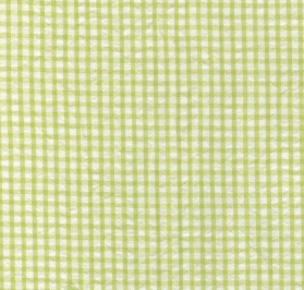 Green Seersucker Fabric | Striped Seersucker Fabric - Green