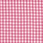Seersucker Check Fabric- Raspberry| 100% Cotton Seersucker Fabric