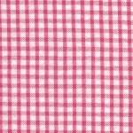 Seersucker Check Fabric- Raspberry| 100% Cotton Seersucker Fabric