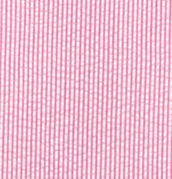 Raspberry Seersucker Fabric |Striped Seersucker Fabric- Raspberry