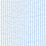 Blue Striped Seersucker Fabric: 1/16"