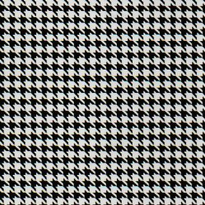 Black and White Houndstooth Fabric | Houndstooth Fabric Wholesale - Print #1771