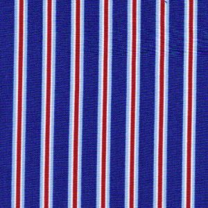 Red White and Blue Stripe Fabric | Multi Colored Striped Fabric