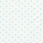 Small Blue Dots on White - Pique #109 | Cotton Pique Fabric Wholesale