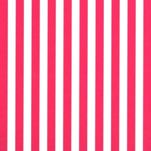 Raspberry Stripe Fabric - 1/4"