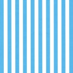 "Turquoise Stripe Fabric: 1/4"" Width 