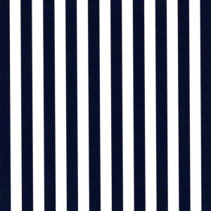 "Navy Stripe Fabric: 1/4"" Width | Stripe Fabric Wholesale"