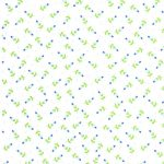 Blue and Green Floral Fabric | Wholesale Floral Fabric - Print #1805