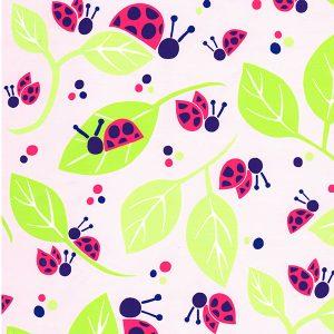 Ladybug Fabric | Wholesale Cotton Fabric - Print 1812