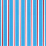 Tomato and Turquoise Stripe Fabric | Stripe Fabric Wholesale - Print #1823
