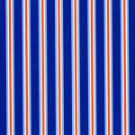Royal and Orange Stripe Fabric | Stripe Fabric Wholesale - Print #1826