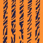 Tiger Stripe Fabric | Tiger Fabric - Print #1873