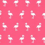 Flamingo Print Fabric - Wholesale Cotton Fabric - Print 1876