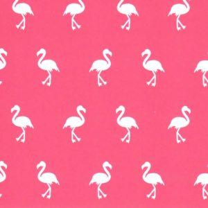 Flamingo Print Fabric - Wholesale Cotton Fabric - Print 1876