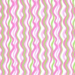 "Wave Fabric: Pink and Lime | Wholesale Cotton Fabric - 60"" Wide"