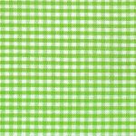 Lime Gingham Fabric: Bright Lime - 1/16"