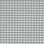 "Grey Gingham Fabric: 1/16"" Check 