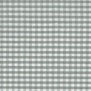"""Grey Gingham Fabric: 1/16"""" Check 