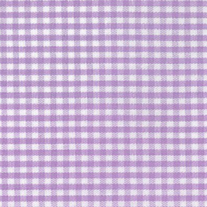 "Lilac Gingham Fabric: 1/16"" Check 