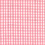"Pink Gingham Fabric - 1/16"" Check 