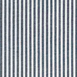 "Navy Stripe Fabric - 1/16"" Stripes 