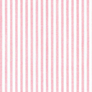 "Pink Stripe Fabric - 1/16"" Stripe 