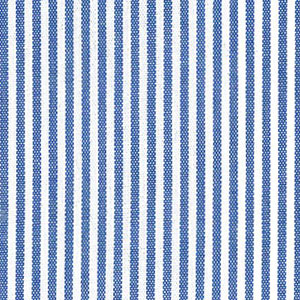 "Royal Blue Stripe Fabric. 1/16"" Stripe 