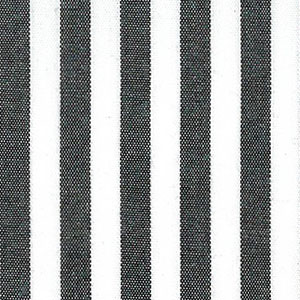 Black Stripe Fabric - 1/4"