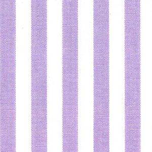 "Lilac Stripe Fabric - 1/4"" Fabric | Striped Fabric Wholesale"