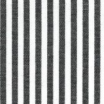 "Black Stripe Fabric: 1/8"" Stripe 