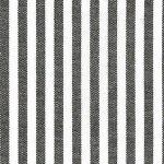 Chocolate Brown Stripe Fabric: 1/8"