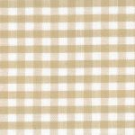 "Khaki Gingham Fabric: 1/8"" Check 