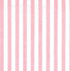 "Pink Stripe Fabric: 1/8"" Stripe | Pink and White Striped Fabric"