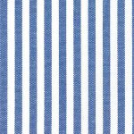 "Royal Blue Stripe Fabric - 1/8"" Width 