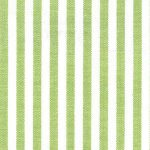Sprout Green Stripe Fabric. 1/8"