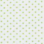 Apple Green Polka Dot Fabric