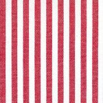 "Berry Red Stripe Fabric - 1/8"" Width 