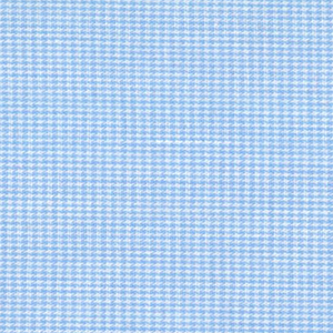 Micro Check Fabric: Light Blue | Blue Gingham Fabric: 1/32""