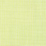 Micro Check Fabric: Lime | 100% Cotton Gingham Fabric