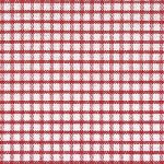 Windowpane Check Fabric - Red | Wholesale Gingham Fabric