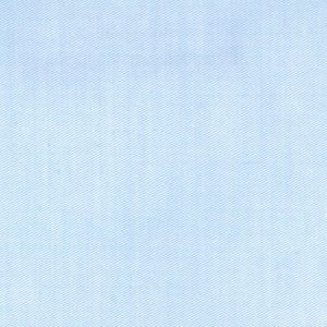 Blue Twill Fabric - Super Fine | Blue Cotton Twill Fabric - 100% Cotton