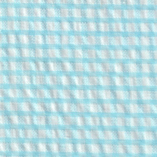 Aqua Blue Seersucker Fabric Seersucker Check Fabric Aqua