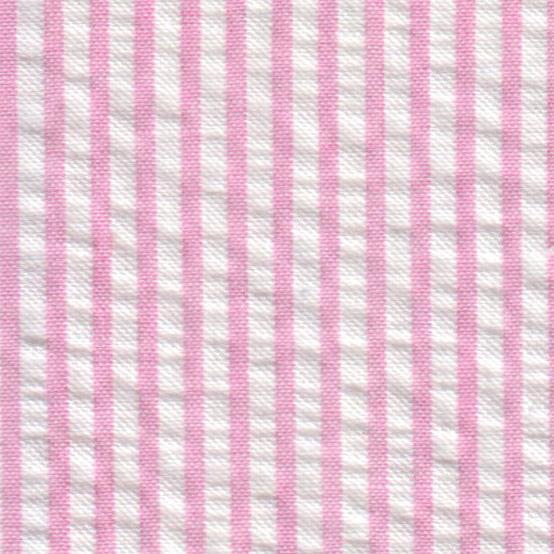 Pink Seersucker Fabric Striped Seersucker Fabric Pink