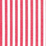 "Watermelon Red Stripe Fabric. 1/8"" Stripe 
