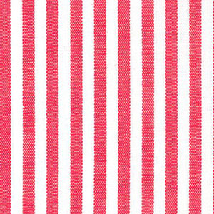 "Watermelon Red Stripe Fabric. 1/8"" Stripe | Striped Fabric Wholesale"