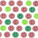 Christmas dot fabric