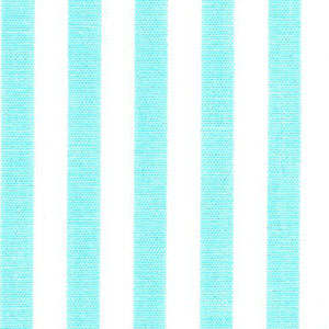 "Seafoam Green Stripe Fabric - 1/4"" Stripe 