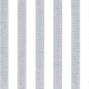 "Silver Stripe Fabric: 1/4"" Width | Wholesale Striped Fabric"